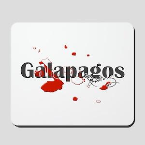 Galapagos Diver Mousepad