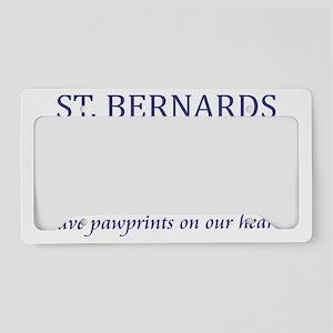 FIN-st-bernards-CROP License Plate Holder