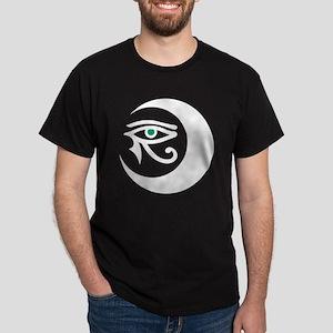 MoonWaxEyeHorusWhite_jadeIris_2850 Dark T-Shirt