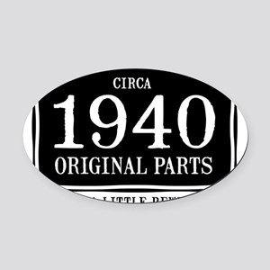 1940x2 Oval Car Magnet
