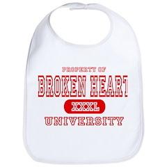 Broken Heart University Bib
