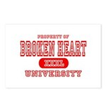 Broken Heart University Postcards (Package of 8)