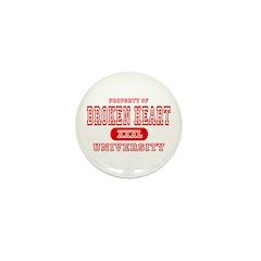 Broken Heart University Mini Button (10 pack)