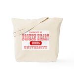 Broken Heart University Tote Bag