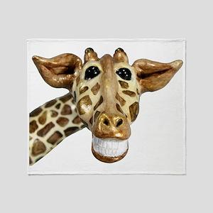 giraffe Throw Blanket
