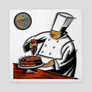 Pastry Chef Art Queen Duvet