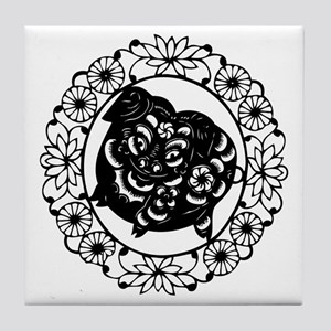 PigB1 Tile Coaster