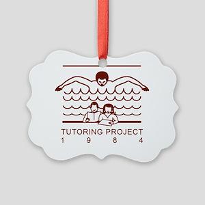 Swim Tutoring Project Picture Ornament