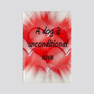 unconditional_love_5aa Rectangle Magnet