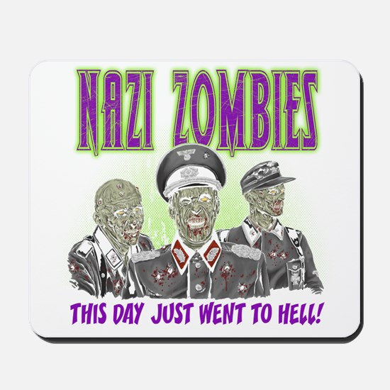 nazi zombies 1 Mousepad