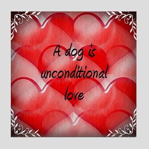 unconditional_love_2 Tile Coaster