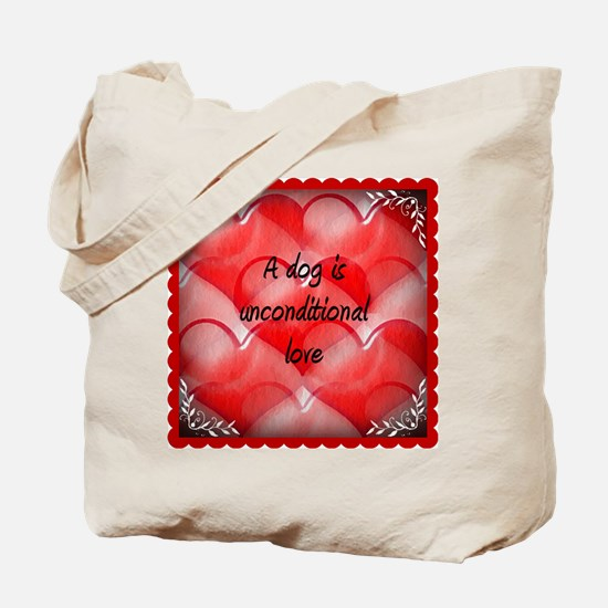 unconditional_love_2 Tote Bag