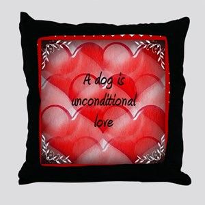 unconditional_love_2 Throw Pillow