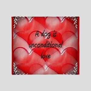 unconditional_love_2 Throw Blanket