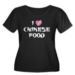 I Love Chinese Food Plus Size T-Shirt