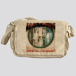 puppys eyes Messenger Bag