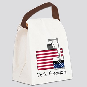 PeakFreedom Canvas Lunch Bag