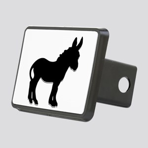donkey waiting for love Rectangular Hitch Cover