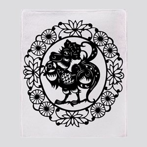 RoosterB1 Throw Blanket