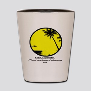 Tropical Shot Glass