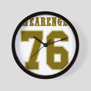 Swearengen 76-1 Wall Clock