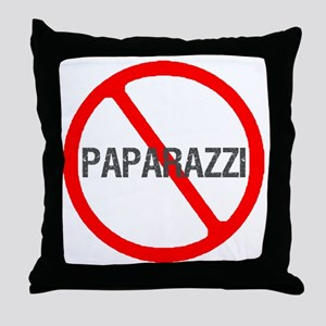 Paparazzi-1 Throw Pillow