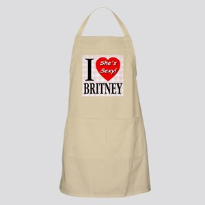 I Love Britney She's Sexy! BBQ Apron