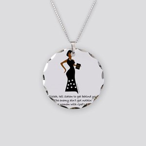 SISTAH WITH PLAN Necklace Circle Charm