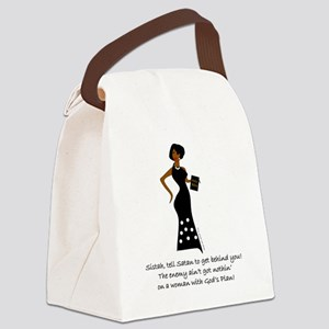 SISTAH WITH PLAN Canvas Lunch Bag