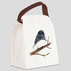 dark eyed junco Canvas Lunch Bag