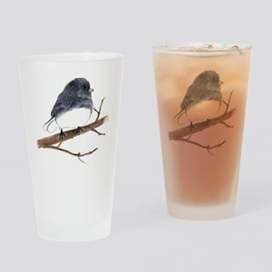 dark eyed junco Drinking Glass