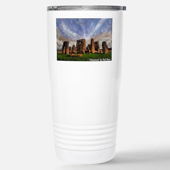 Monument Stainless Steel Travel Mug