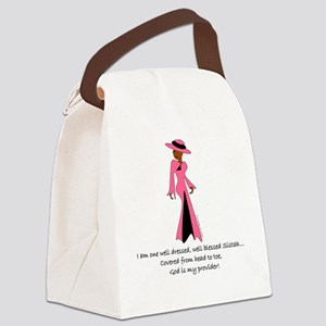 BC well dressed Canvas Lunch Bag