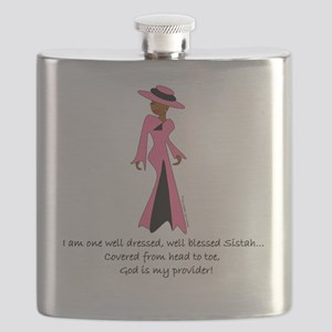 BC well dressed Flask