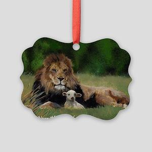 You Are Never Alone Picture Ornament