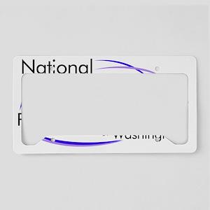 NWPC-WA logo License Plate Holder