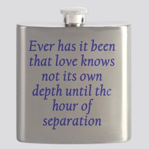 Hour of Separation Flask