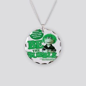 Germs-not just for kids Necklace Circle Charm