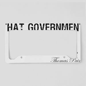 Thomas-Paine-(white-shirt) License Plate Holder