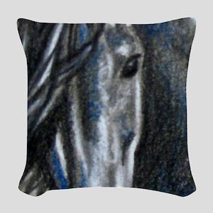 greyandaceorn Woven Throw Pillow