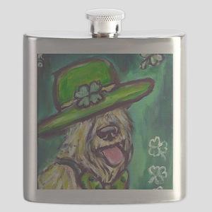 stpaddysdaywheaten Flask
