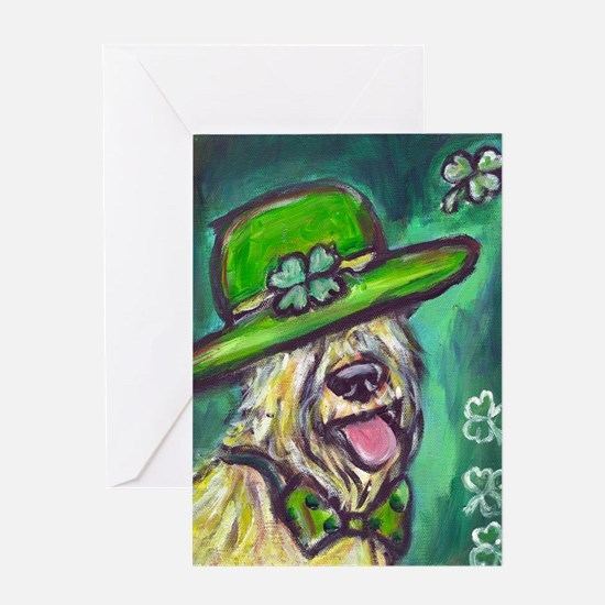 stpaddysdaywheaten Greeting Card