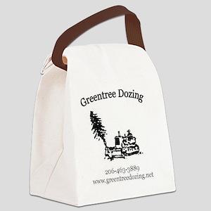 LOGO LRG Canvas Lunch Bag