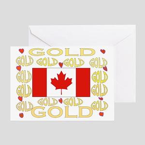 CANADA,GOLD? Greeting Card