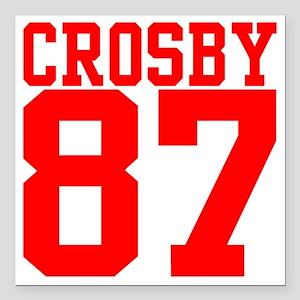 "crosby2 Square Car Magnet 3"" x 3"""