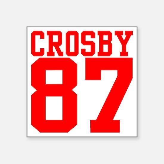 """crosby2.gif Square Sticker 3"""" x 3"""""""