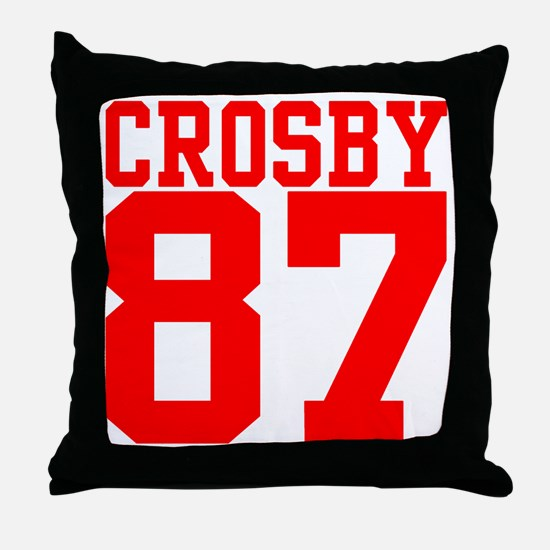 crosby2.gif Throw Pillow