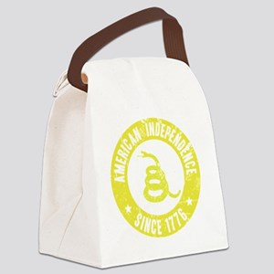 AIYellowSnake Canvas Lunch Bag