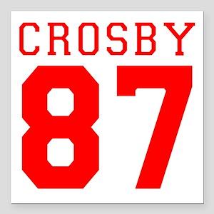 "2-crosby Square Car Magnet 3"" x 3"""