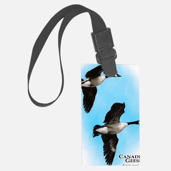 Canadian Geese Luggage Tag
